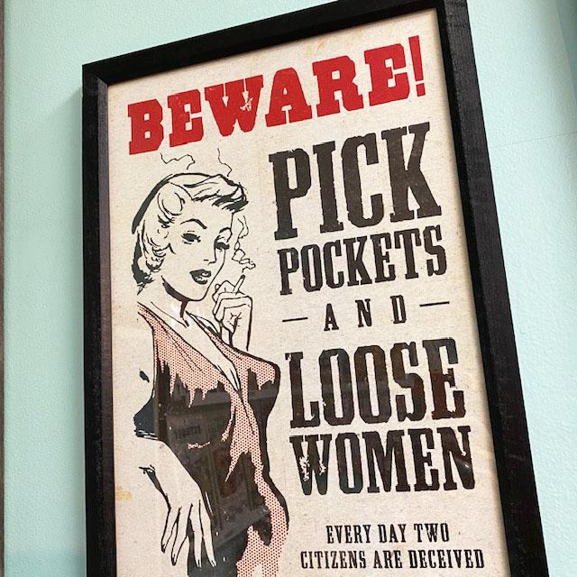 fair warning
