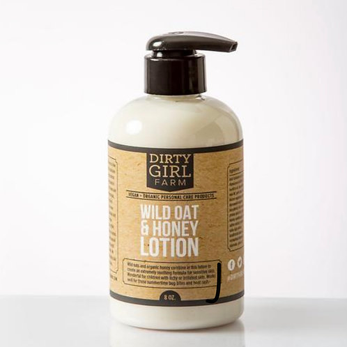 Wild Oat & Honey Lotion
