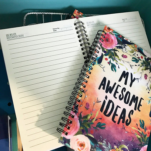Bold & Colorful Notebooks