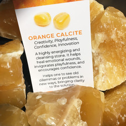 orange calcite