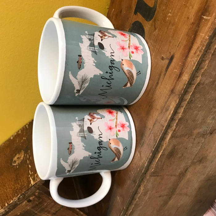 michigan mugs