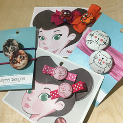 purrty cute hair accessories