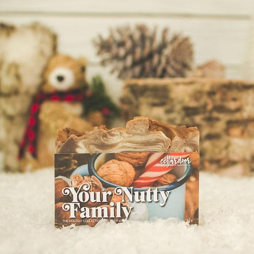 Your Nutty Family Bar Soap