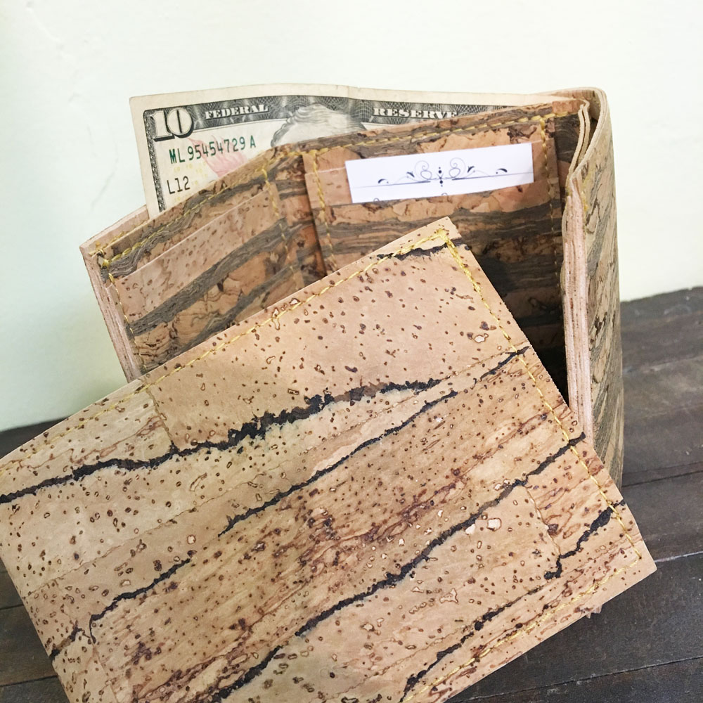cool cork wallets