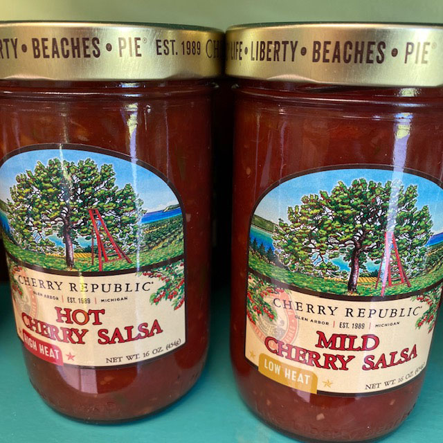 salsa with a cherry kick
