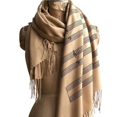 Linen Pashmina Scarves (2 Styles)