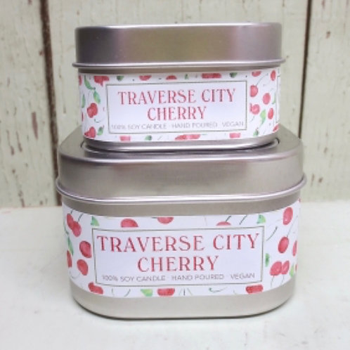Traverse City Cherry Soy Candle