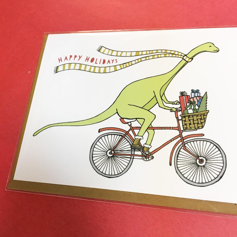 dinomite holiday card