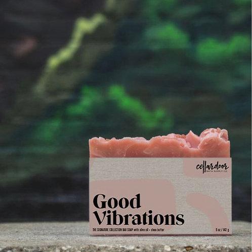 Good Vibrations Bar Soap