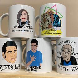 foxy hipster mugs
