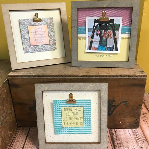 Small Special Occasion Frames