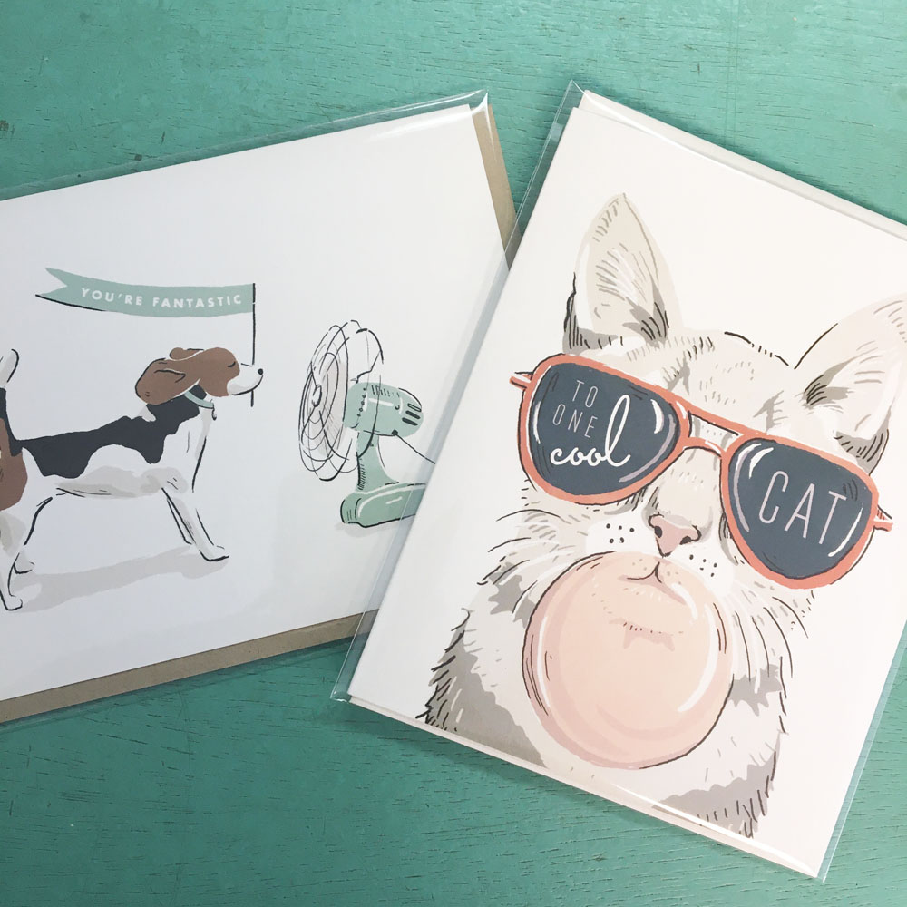 cards to cheer you on