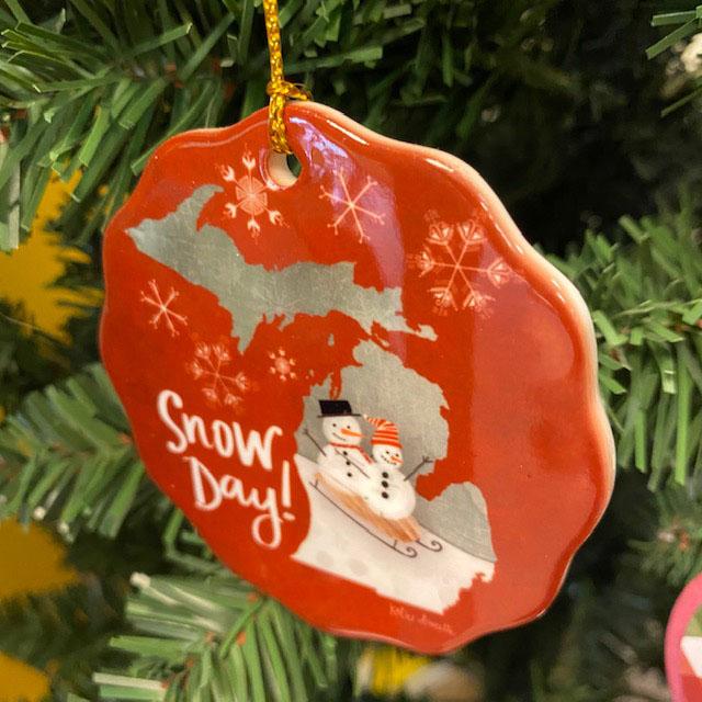 snow day ornament