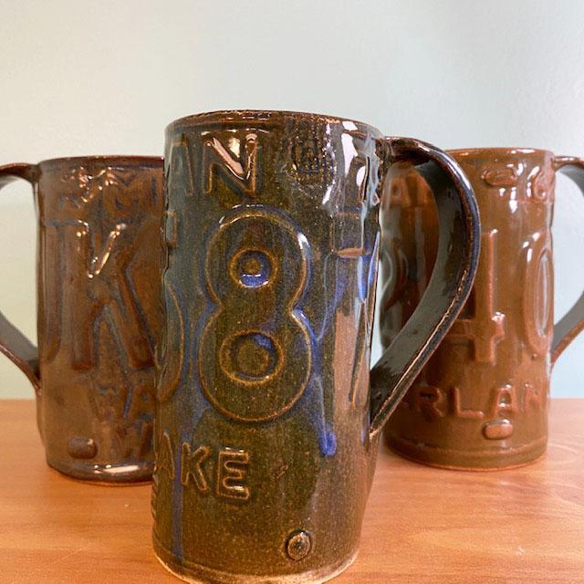 license plate mugs