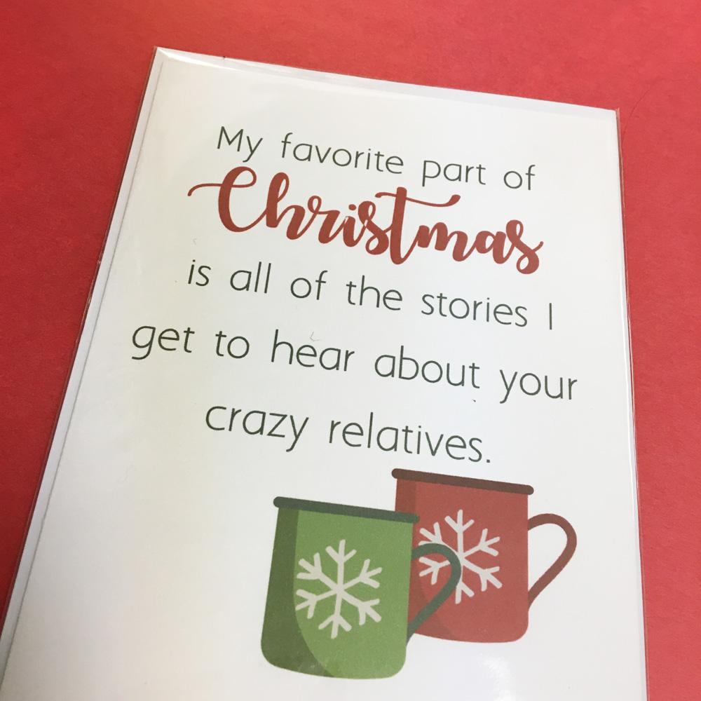 crazy relatives