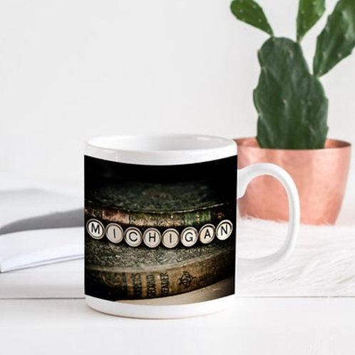 Typewriter Key Mugs