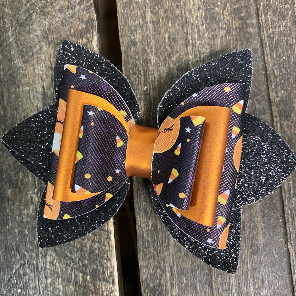 festive hair bow