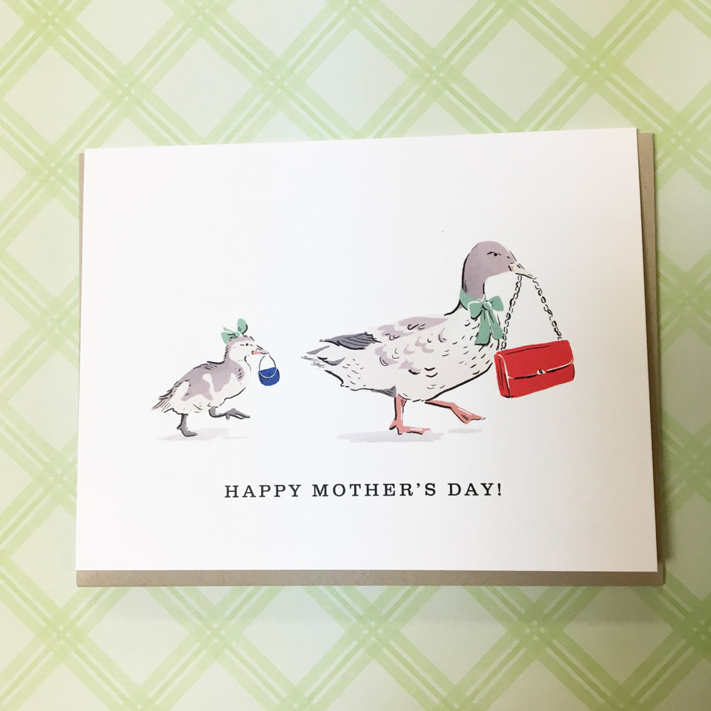 for a mom leading the way