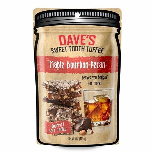 Maple Bourbon Pecan Toffee