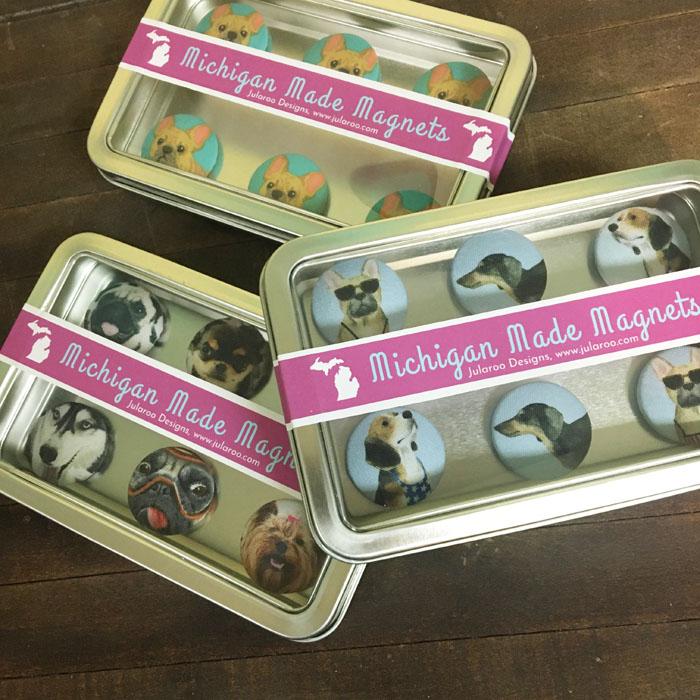 dog gone delightful magnets