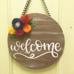 front door greetings
