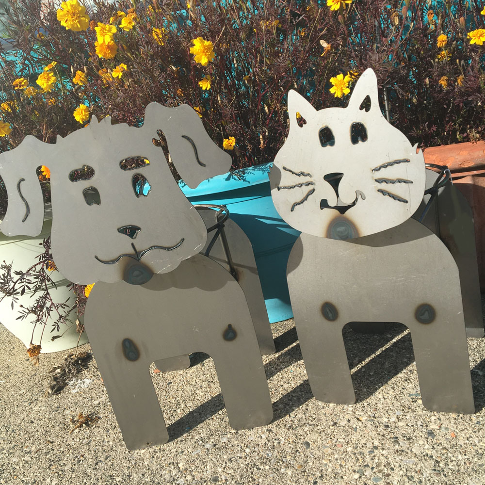 purrfect planter holders