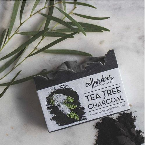 Tea Tree + Charcoal Bar Soap