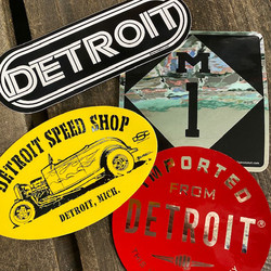 motor city stickers