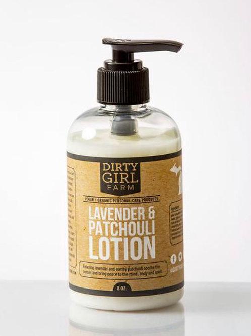 Lavender & Patchouli Lotion