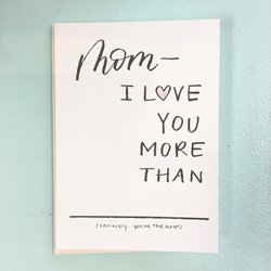 for seriously the best moms