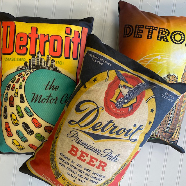 detroit pillows