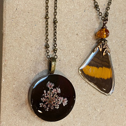 nature inspired necklaces