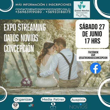 Expo Streaming Datos Novios Concepción