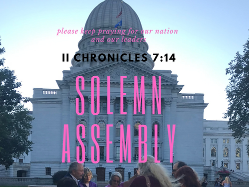 How to Host a Solemn Assembly Packet