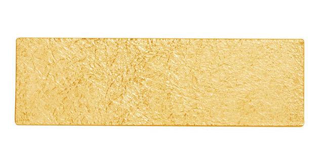 Tin Breath Bracelet - Gold plated