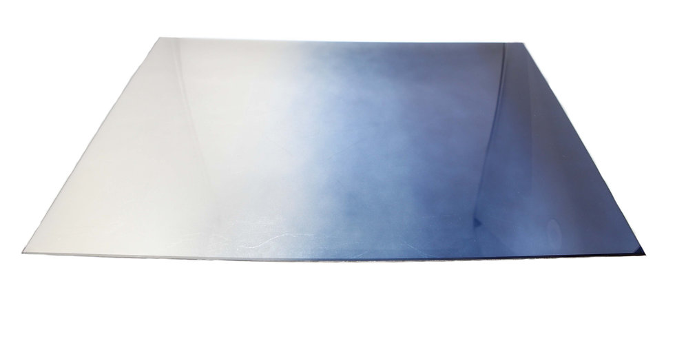 TABLE MAT SILVER & BLUE
