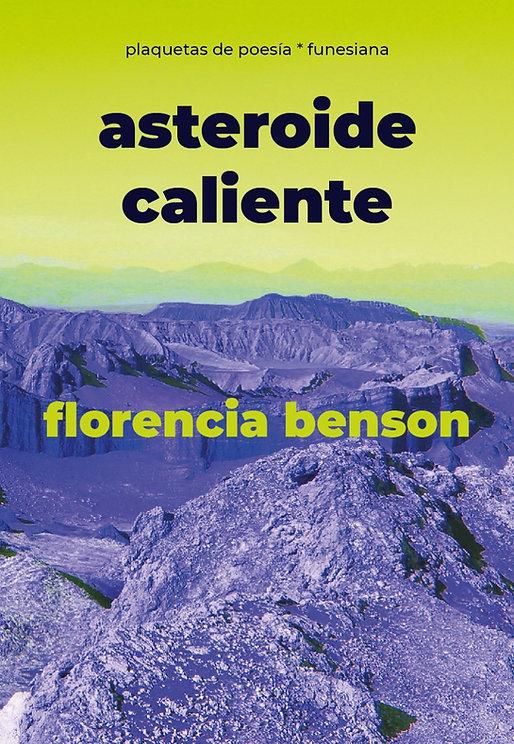 Asteroide-caliente-Florencia-Benson-Fune