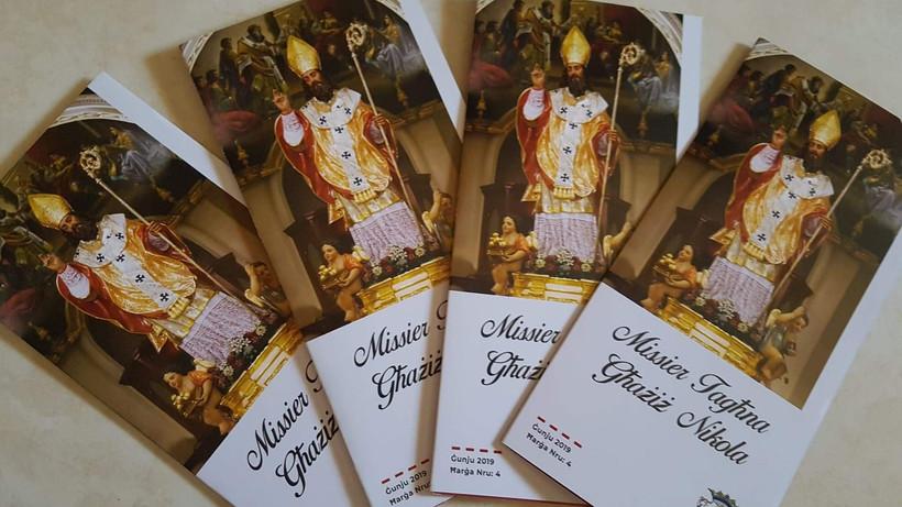 Leaflets Missier Tagħna Għażiż Nikola