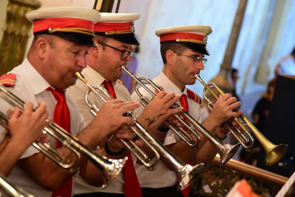 Bandisti waqt il-Festa tal-2019