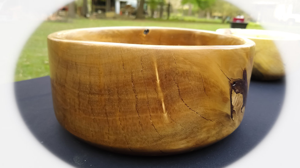Resin infused BlackGum bowl