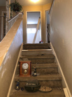 Stairwell that Dave was working on when he fell