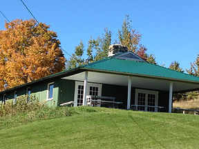 charming camp dining hall for receptions, gatherings, special events