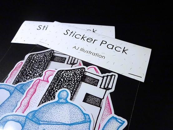 Hiraeth Sticker Pack