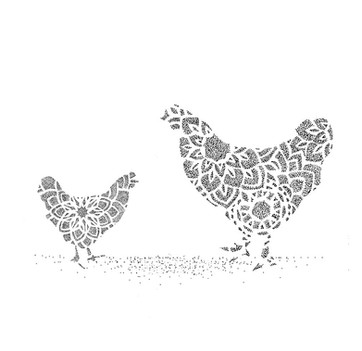 Geometric Hens