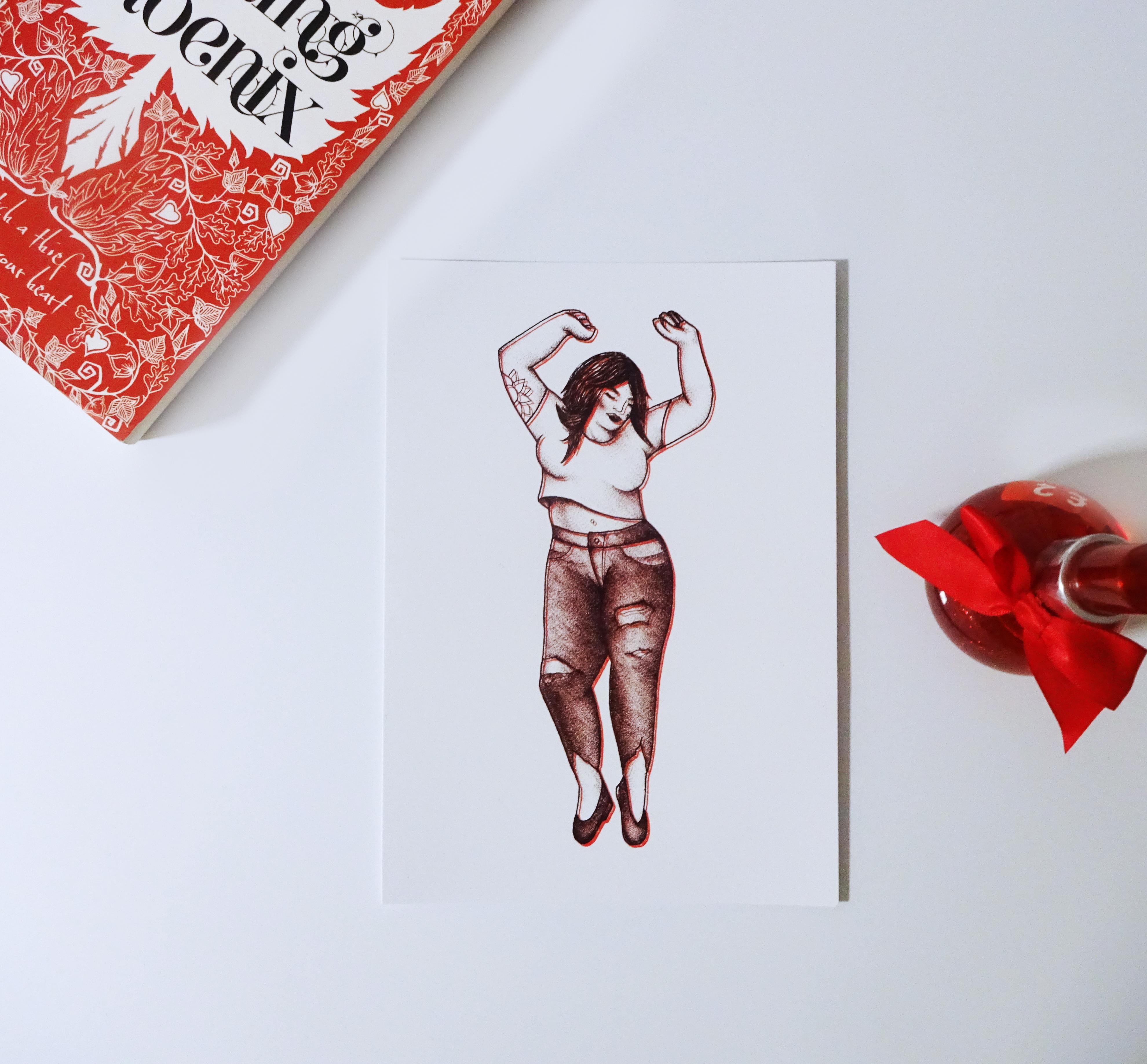 Vivacious Print