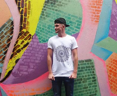 AJ Illustration Tshirt Model