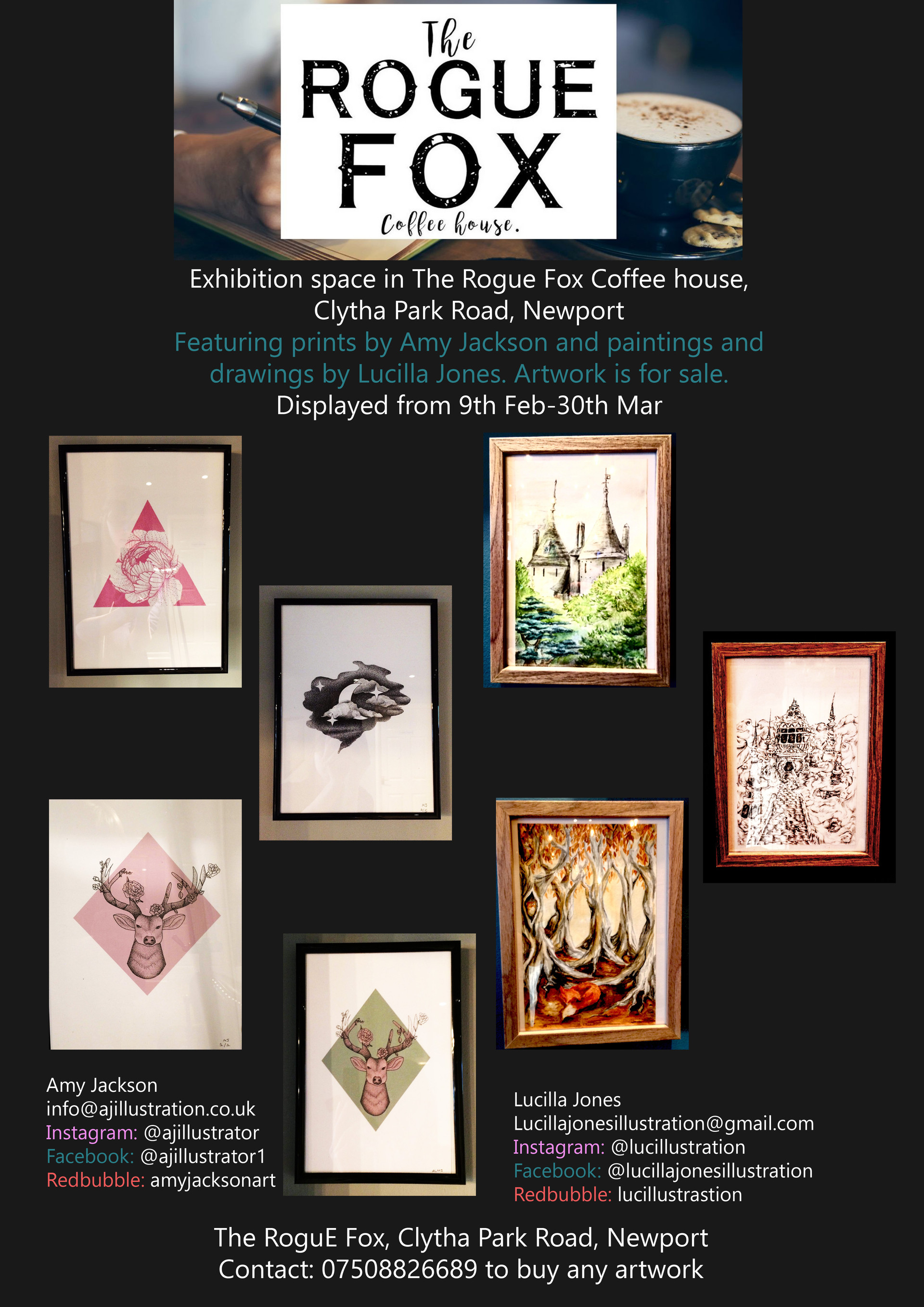 Poster for the exhibtion/stall