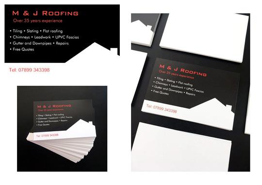 M&J Roofing Branding