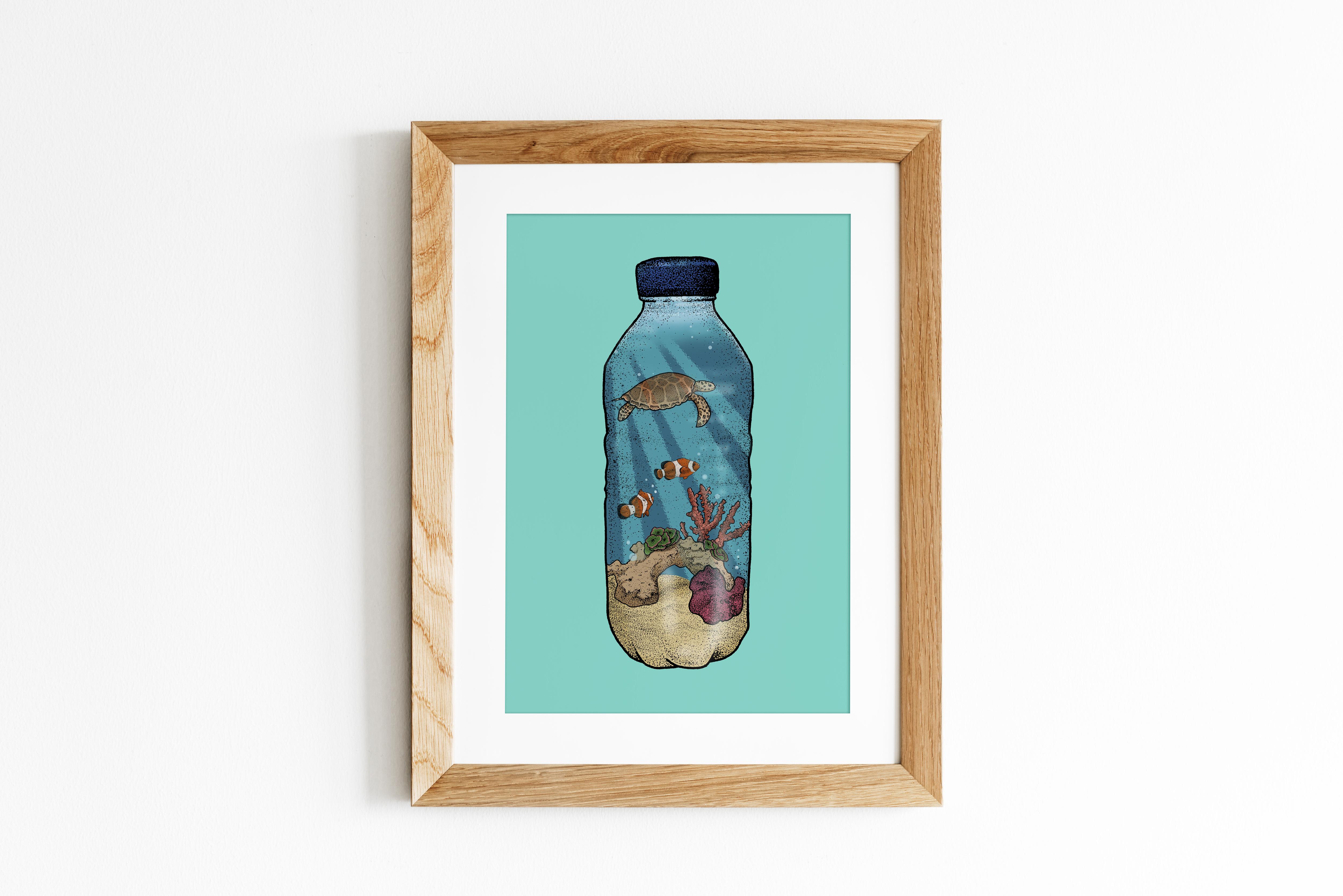 A Plastic Ocean Print