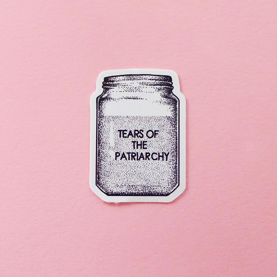 Tears of the Patriarchy Stickers